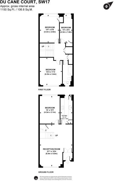 large 4 bedroom floor plan
